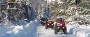Le VTT en hiver dans la MRC des Appalaches