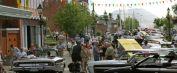 Exposition annuelle d'autos au centre-ville de Thetford